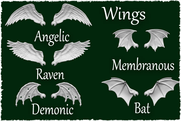 These wings are available for all our bjd dolls