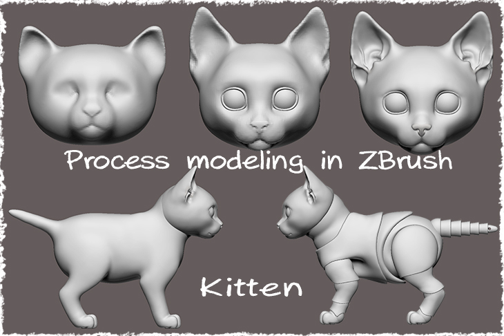 modeling a bjd doll in ZBrush