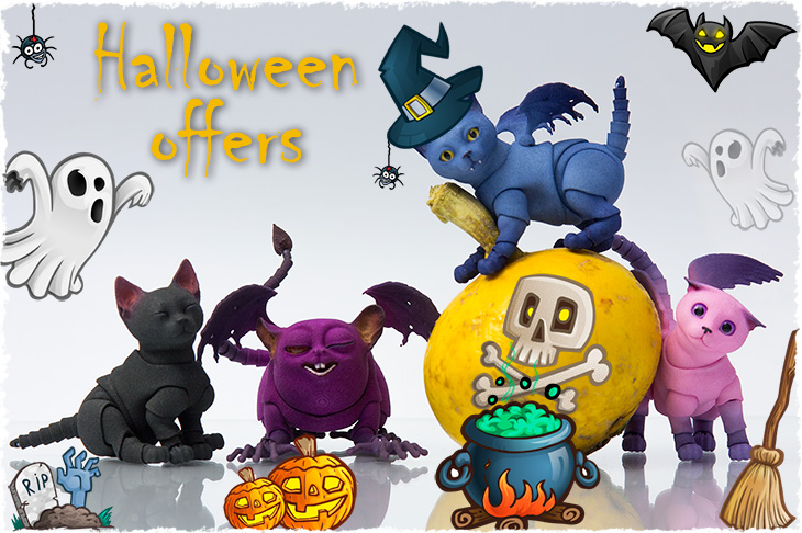 Halloween offers for BJD dolls by Walloya Morring