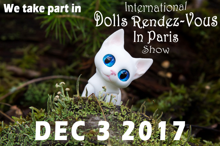 Walloya Morring in Paris 2017 Dolls Rendez-Vous